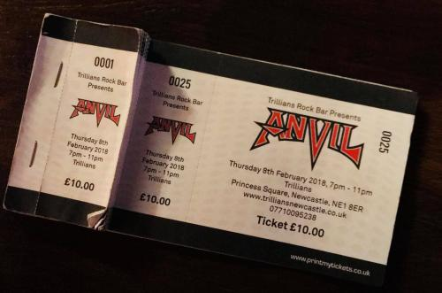 Anvil Ticket